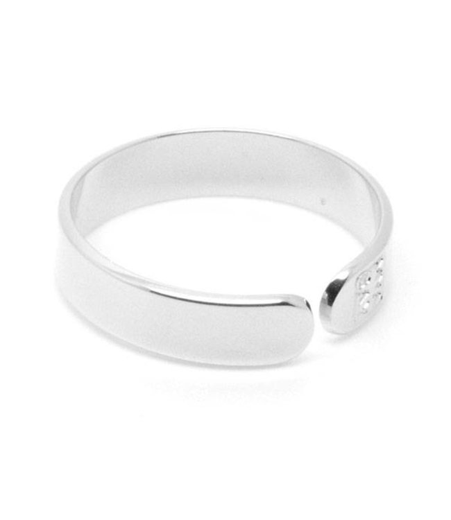 Mya Bay Ring Happiness zilver