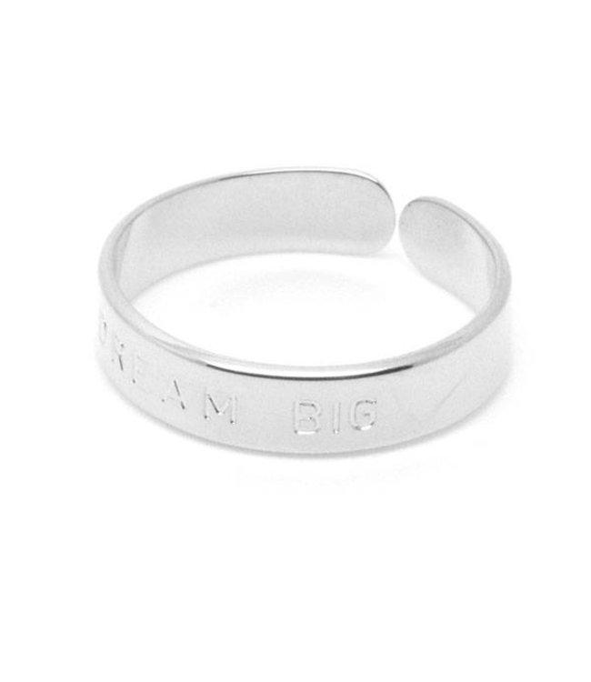 Mya Bay Ring Dream Big zilver