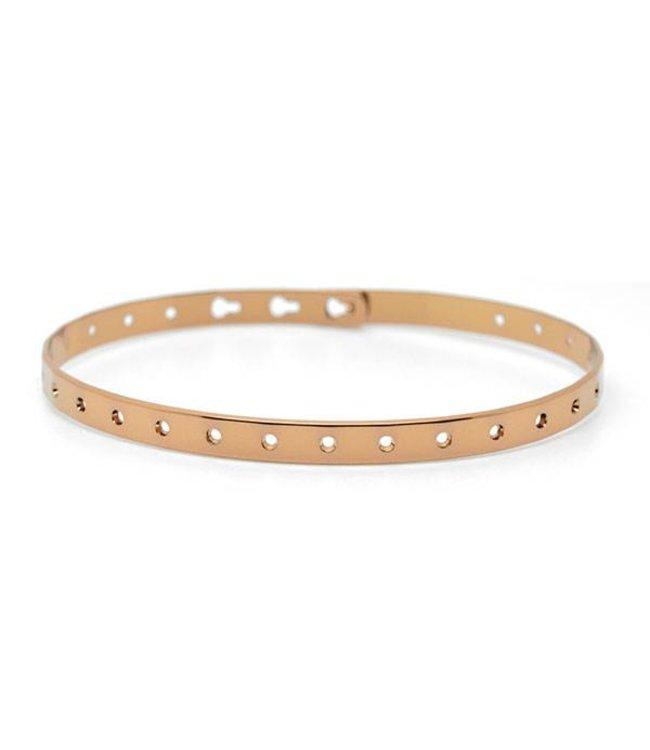 Mya Bay Armband Lauren brons