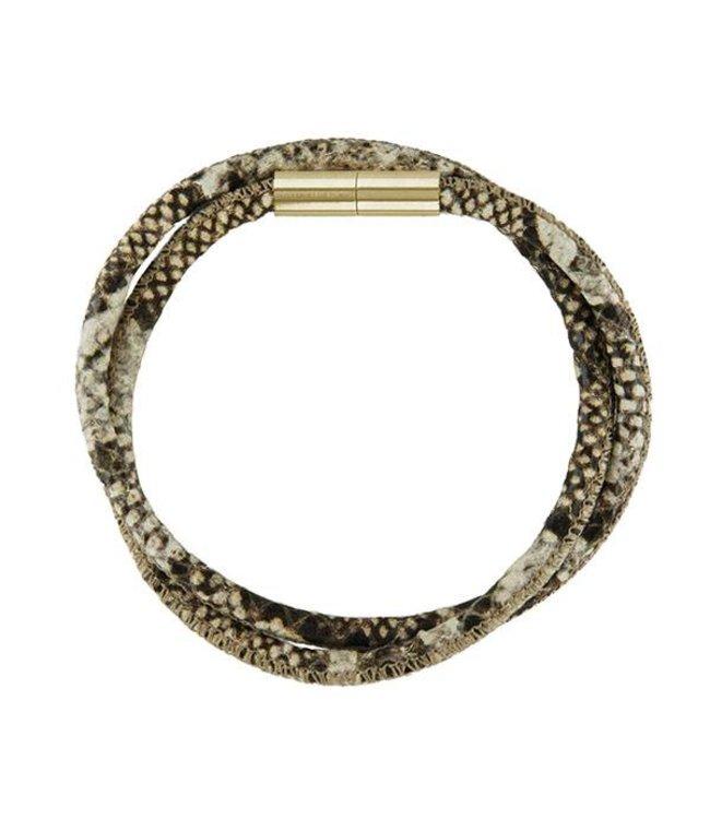Souvenirs de Pomme Armband Low Jo Double Snake
