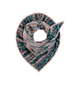 POM Amsterdam Sjaal Premium Tribal Turquoise