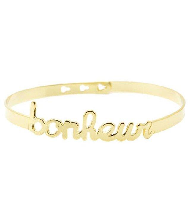 "Mya Bay Armband "" Bonheur"" Gold"