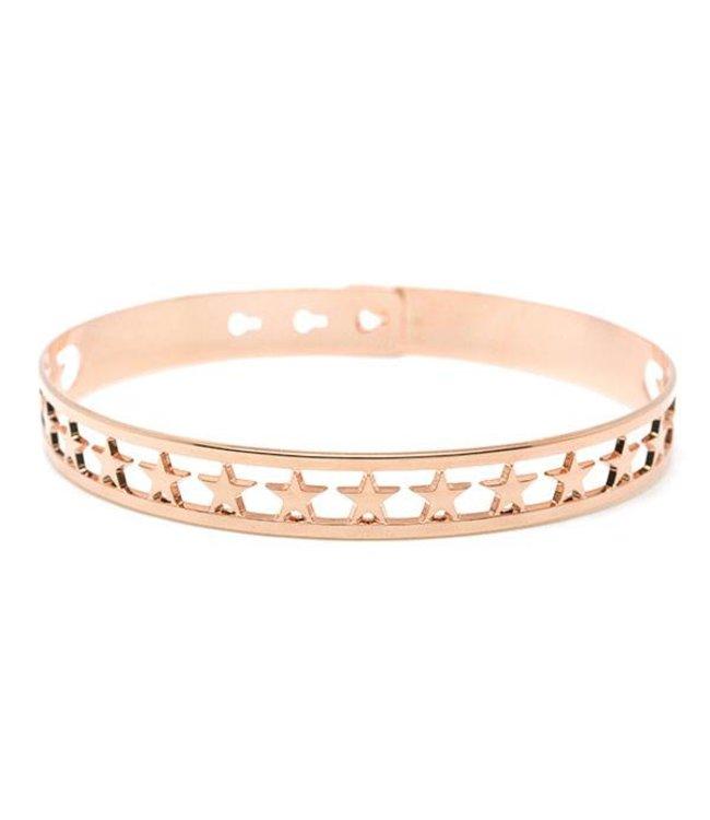 "Mya Bay Armband ""20 Stars"" Pink Gold"