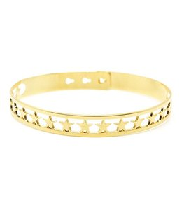 "Mya Bay Armband ""20 Stars"" Gold"
