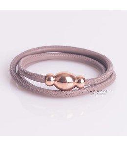 Qudo Armband Tender Tasso rosegold