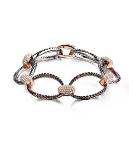 Silver Rose Armband Millicente