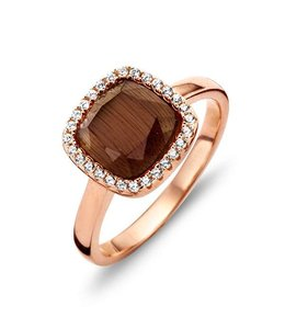 Silver Rose Ring Perrone