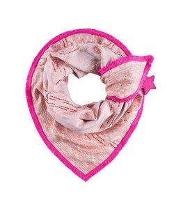 POM Amsterdam Sjaal Premium Patchwork Coral 508