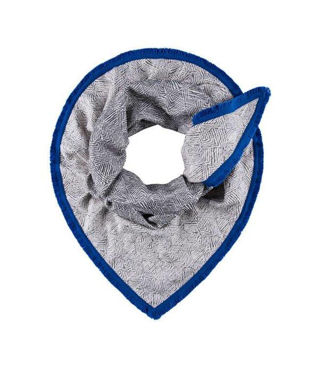POM Amsterdam Sjaal Geometric Grey 504
