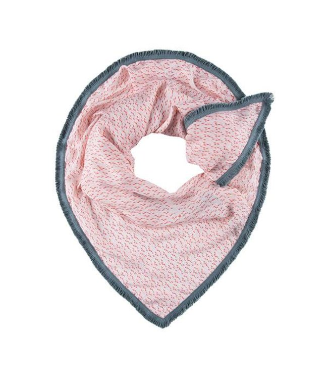 POM Amsterdam Sjaal Petite Drops Pink 553