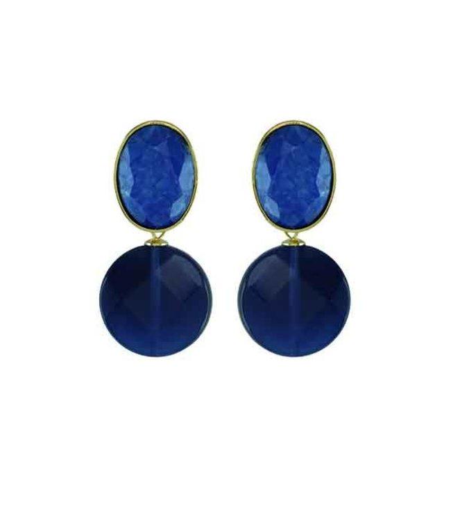 Souvenirs de Pomme Oorringen Fifty Blue