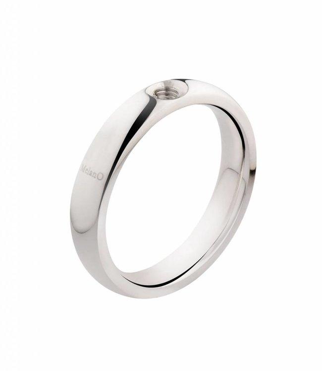 Melano Ring Melano twisted zilver