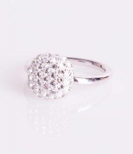 Phantasya Ring Crystal Square White