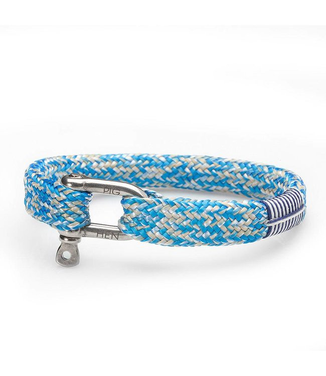 Pig & Hen Armband Sharp  Sharp Simon Blue-Sand-White