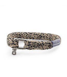 Pig & Hen Armband Sharp Simon Navy Sand