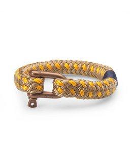 Pig & Hen Armband Barato Bob Camel-Yellow