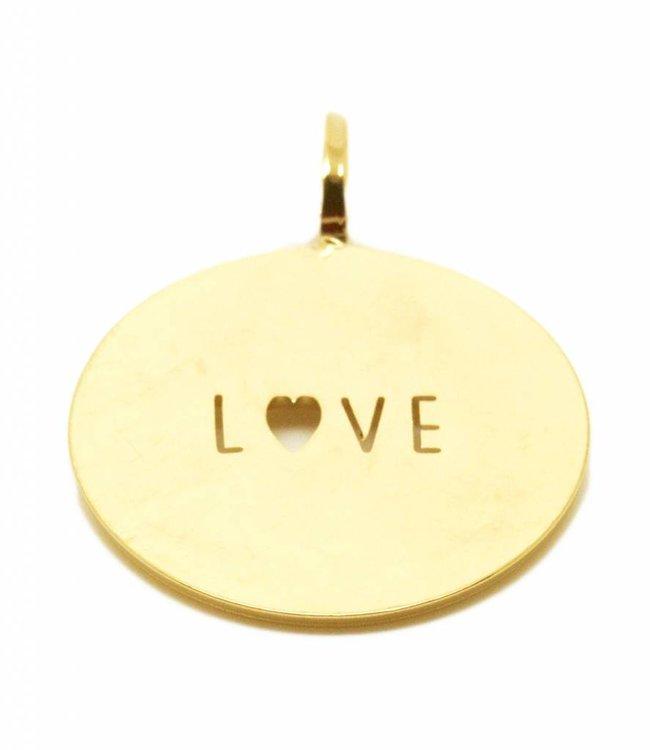 Mya Bay Hanger Gold Love