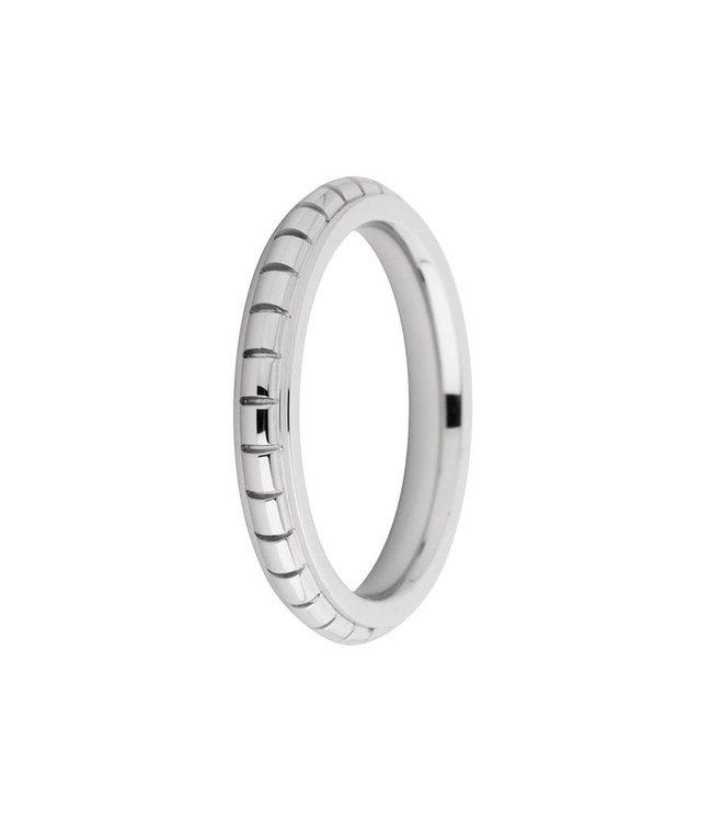 Melano Ring Sarah gegraveerd zilver