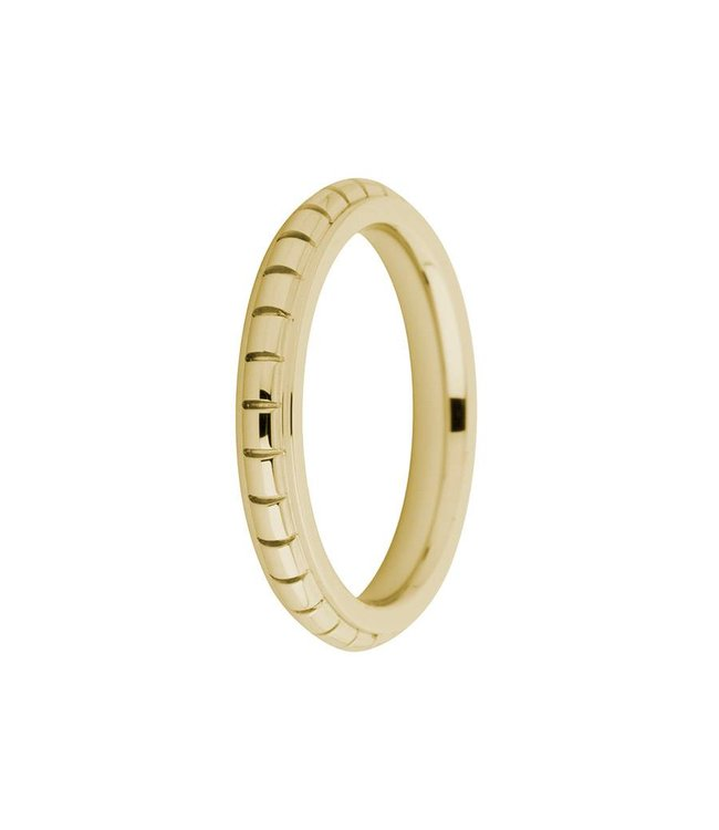 Melano Ring Sarah gegraveerd goud