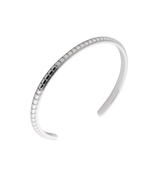 Melano Armband Jessica Facet gegraveerd zilver