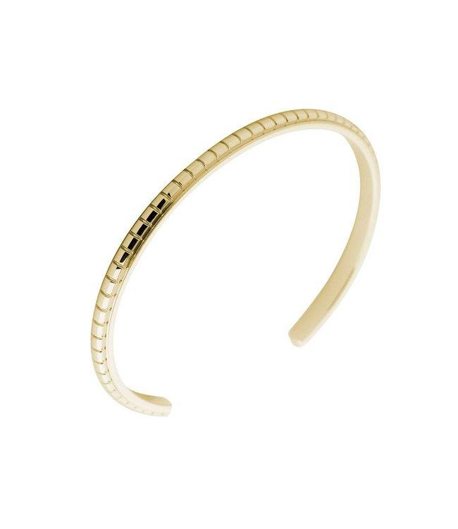 Melano Armband Jessica Facet gegraveerd goud