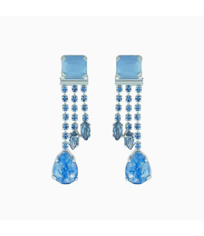 Souvenirs de Pomme Oorbellen Pixie Blue