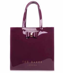 Ted Baker Large Icon Bag Bordeaux