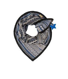 POM Amsterdam Sjaal Premium Lady Blue 502