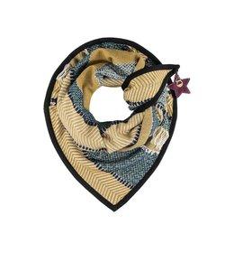 POM Amsterdam Sjaal Premium Desert Fringe 210