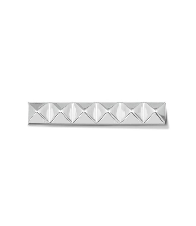 Take What You Need Bar Stud silver toned