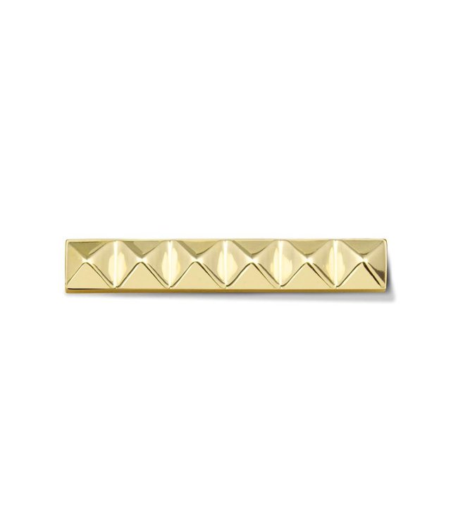 Take What You Need Bar Stud gold toned