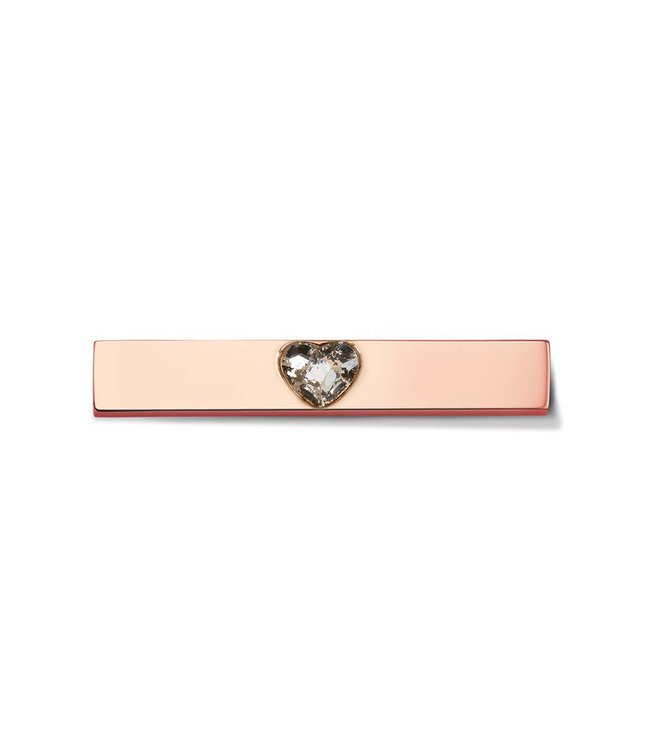 Take What You Need Bar Heart rosegold toned