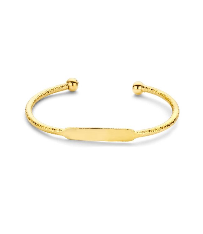 Take What You Need SSunset bangle gold toned