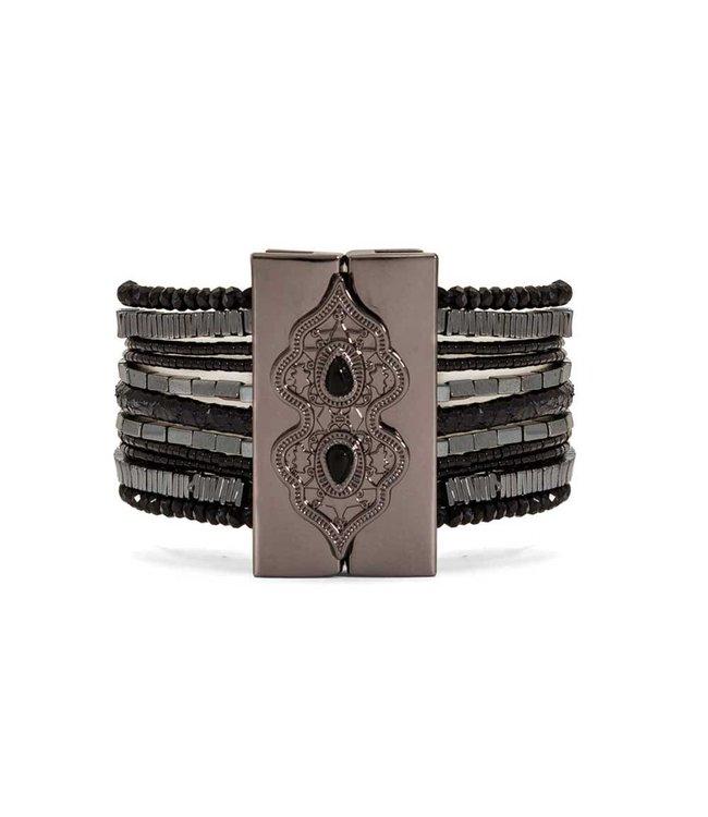 Hipanema Armband Santafe Black