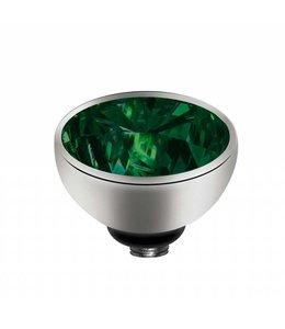Melano Zirkonium Green - Zilver zetting