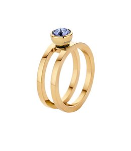 Melano Ring Twisted Trista Goud