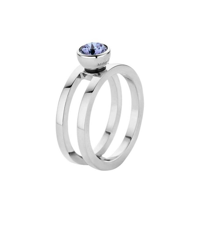 Melano Ring Twisted Trista Zilver