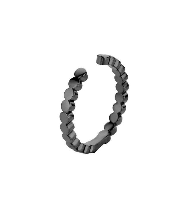 Melano Ring Twisted Tina Black