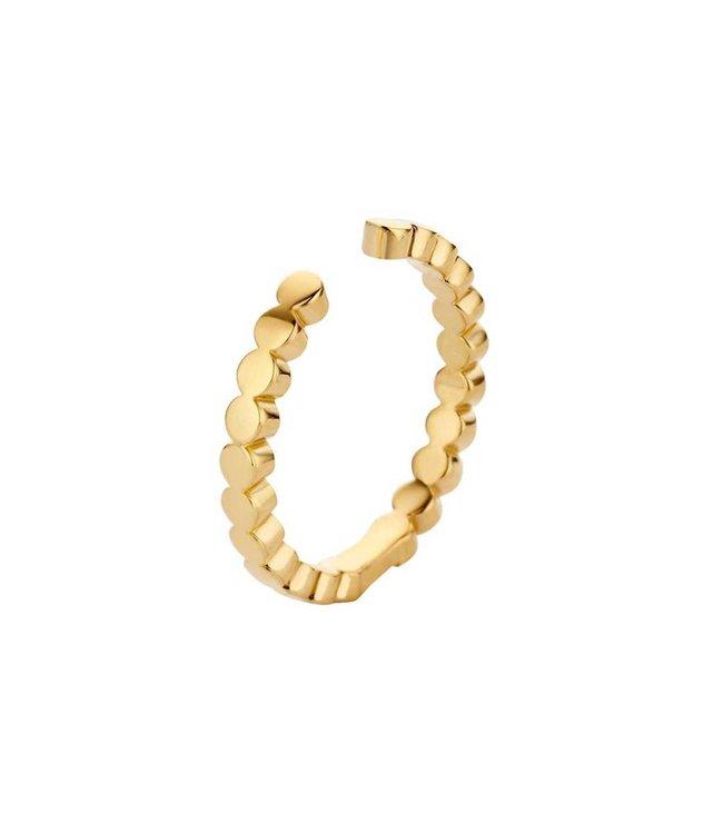 Melano Ring Twisted Tina Goud