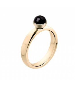 Melano Twisted Ring Goud