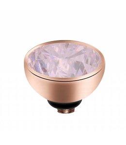 Melano Zirkonium Milk Pink - rosegoud zetting