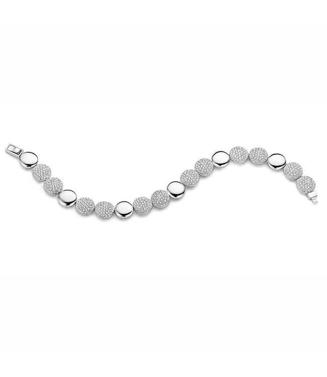 Silver Rose Armband Yara