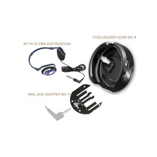 XP Deus set WS-4  hoofdtelefoon op je steel  monteren