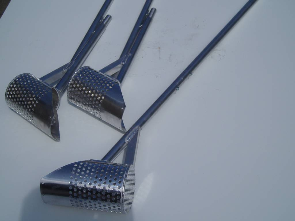 Aluminium Strandzeef / waadschep