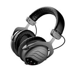Deteknix Draadloze W-6 Pro Hoofdtelefoon, grote oorschelp