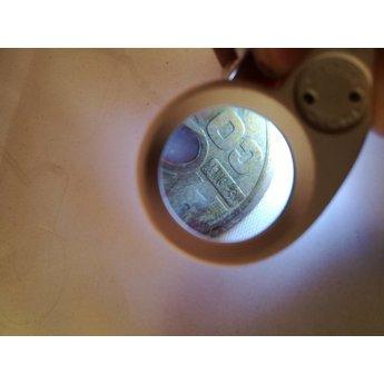 Loep vergrootglas met led 40x munten, merkjes ringen, Detector