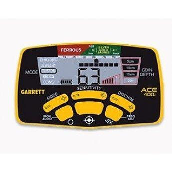 Garrett ACE 400i Verbeterde Metaaldetector plus  pakket Display hoesje