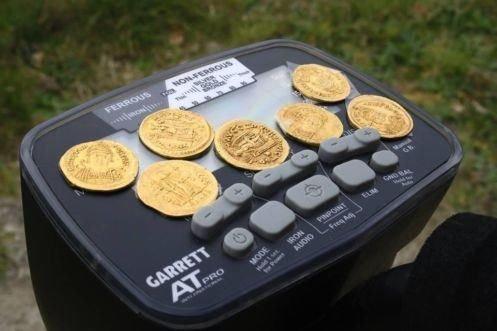 Garrett AT GOLD METAALDETECTOR voor gold nuggets klein goud
