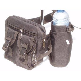 Heuptasje + drinkhouder Vondsten heup tasje met flesje houder Metaaldetectors
