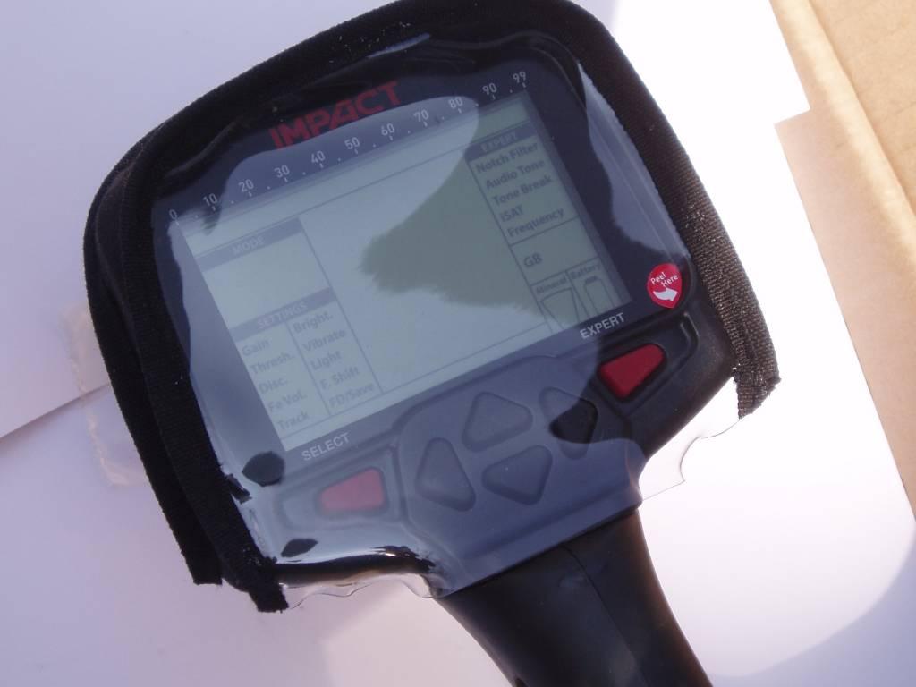 Nokta Impact display bescherm hoesje Detector